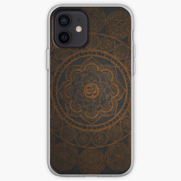 Sacred Geometry - Circular Connections iPhone Soft Case