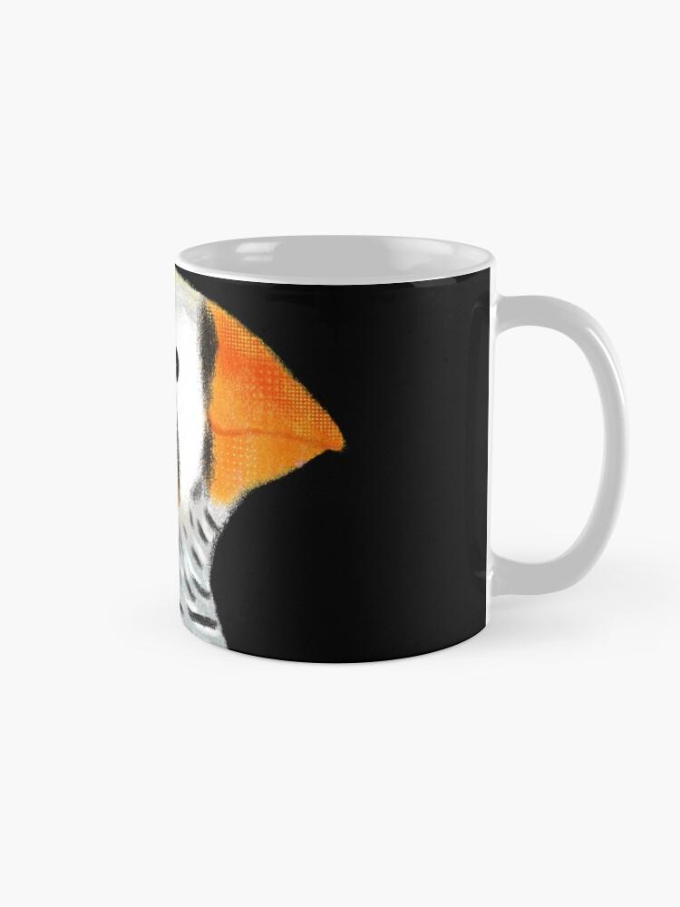 Alternate view of Zebra Finch Bird Mug