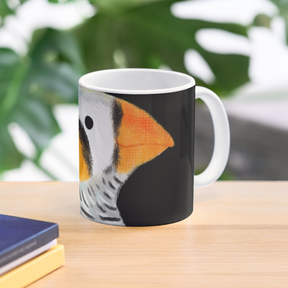 Zebra Finch Bird Mug