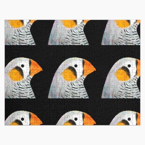 Zebra Finch Bird Jigsaw Puzzle
