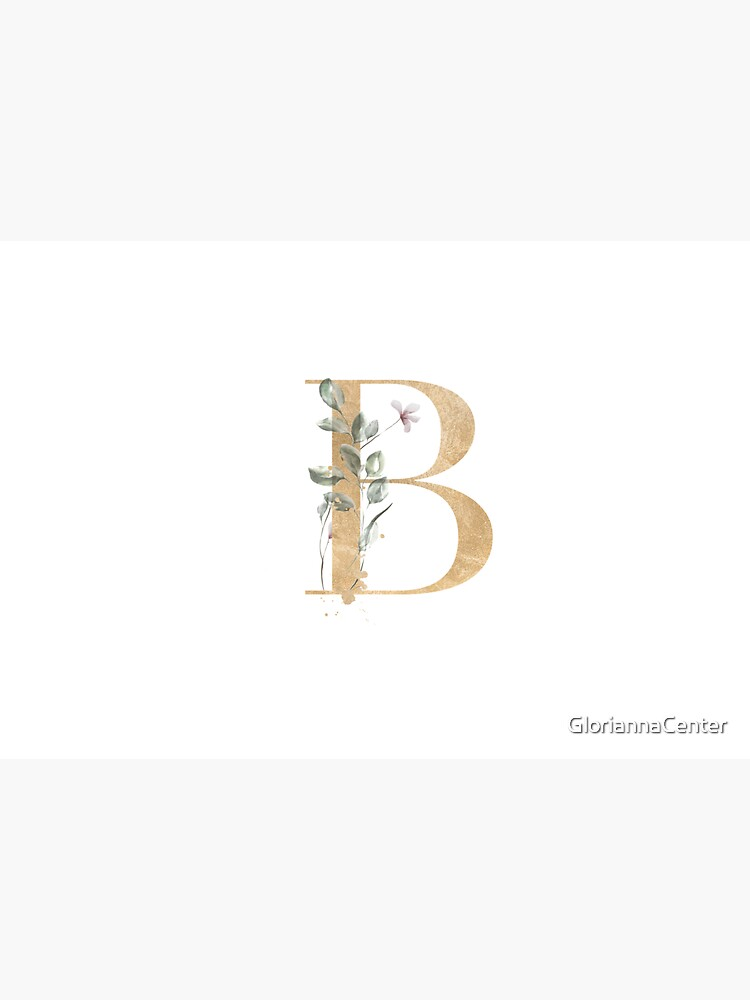 Vintage letter B by GloriannaCenter