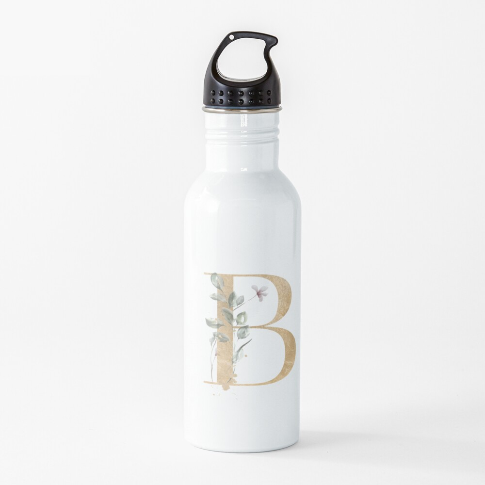Vintage letter B Water Bottle