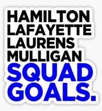 Hamilton - Squad Goals 2.0 Sticker