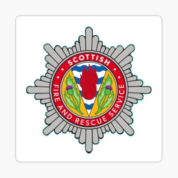 Scottish Fire and Rescue Sticker