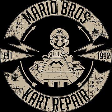 Mario Bros Kart Repairs by morlock