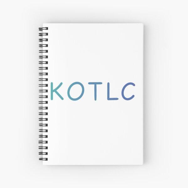 KOTLC Cahier à spirale
