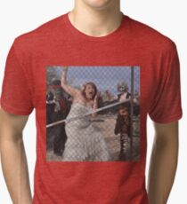 No escaping now mmmhahah Tri-blend T-Shirt