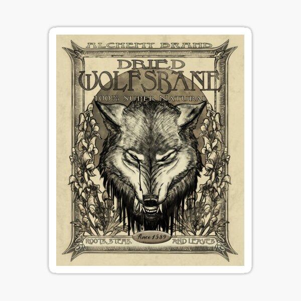 Dried Wolfsbane Sticker