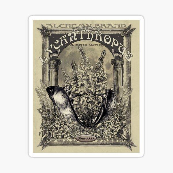 Essence of Lycanthropus Sticker