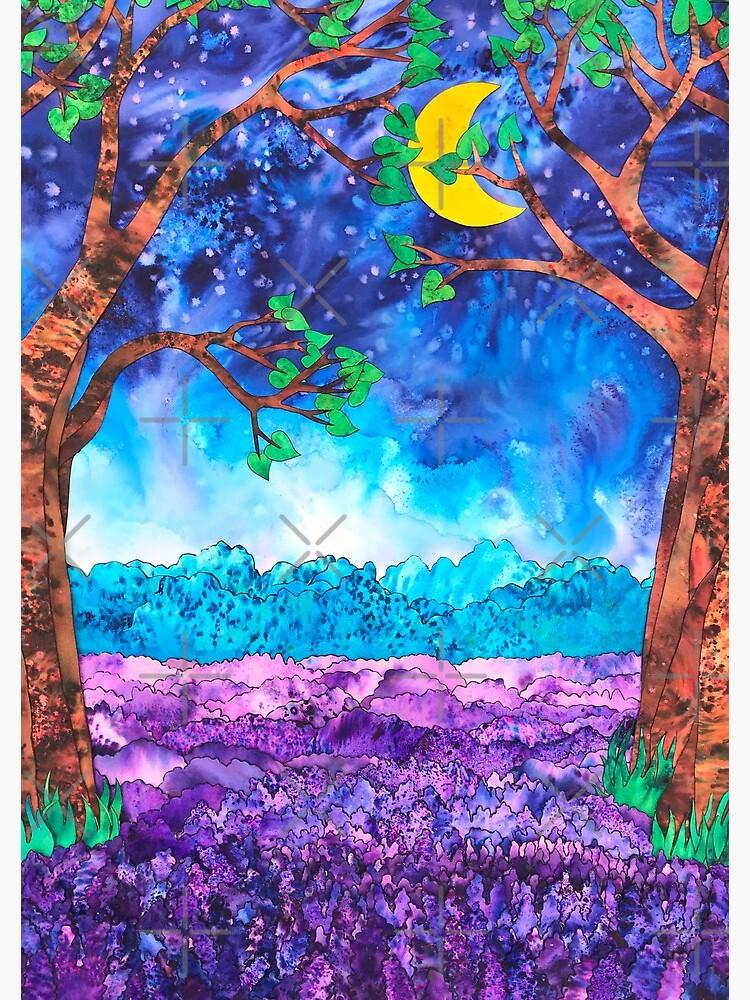 Lavender in the Moonlight  by junebugscorner