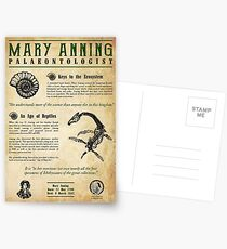 Mary Anning: Palaeontologist Postcards