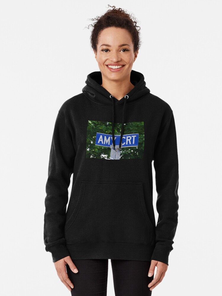 Alternate view of Amy, Amy sticker, Amy magnet, Amy mask, Amy backpack, Amy greeting card Pullover Hoodie