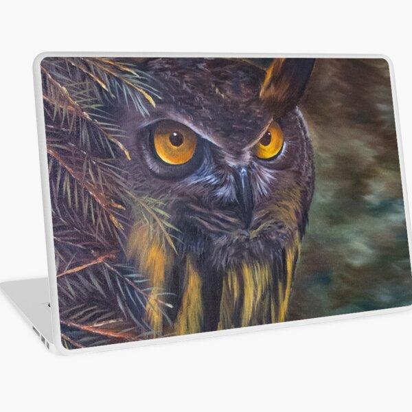 Eagle Owl Laptop Skin