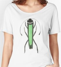 Cute Green Bug Insect Cool Gift Fashion Women's Relaxed Fit T-Shirt