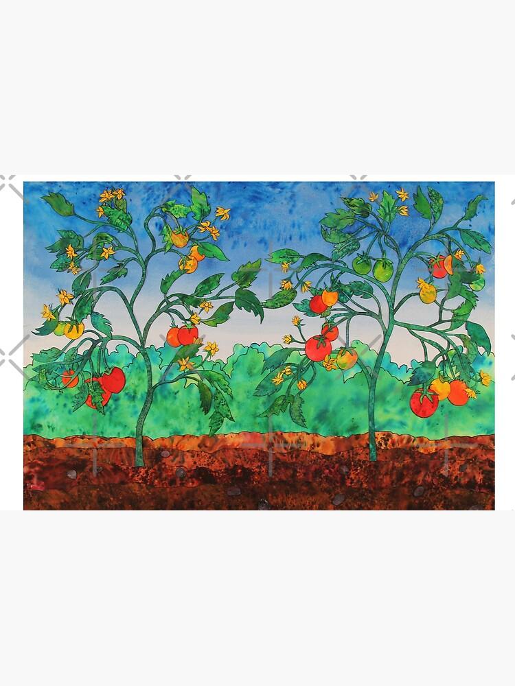 Summertime Tomatoes by junebugscorner
