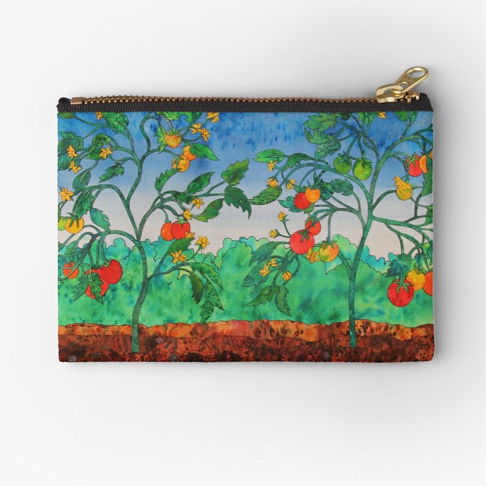 Summertime Tomatoes Zipper Pouch