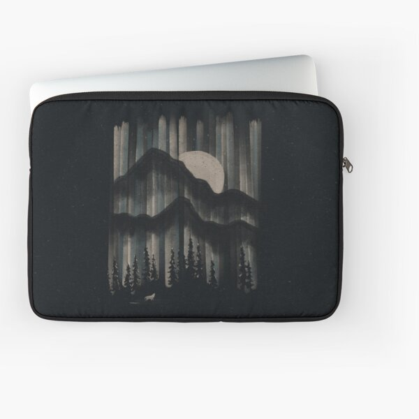 A Wolf in the Night... Laptop Sleeve