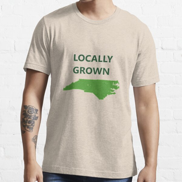 Locally Grown in North Carolina State Essential T-Shirt