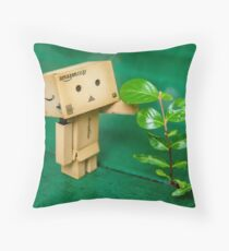 It's Danbo Sized! Throw Pillow