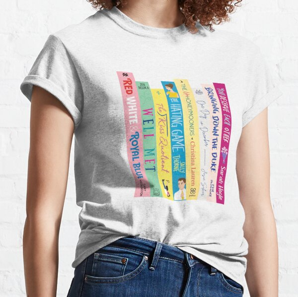 Romance Book Stack Classic T-Shirt