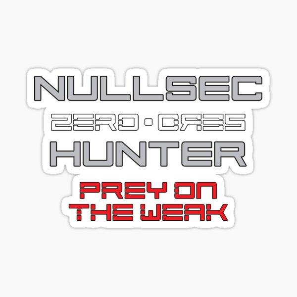 Nullsec Hunter v2.0 Sticker