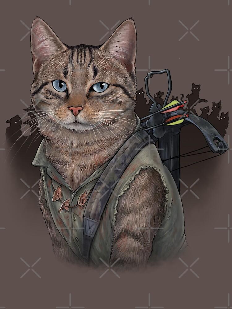 TShirtGifter presents: Daryl Dixon Cat | Unisex T-Shirt