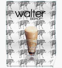 Fringe minimalist poster, Walter Bishop Poster
