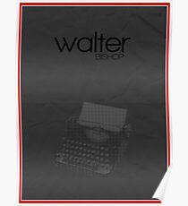 Fringe minimalist poster, Walter Bishop (alternate universe) Poster