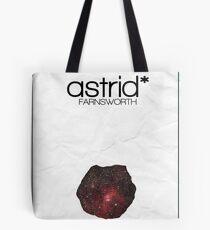 Fringe minimalist poster, Astrid Farnsworth Tote Bag
