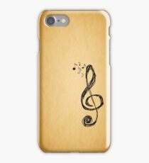 Music Lasts a Lifetime iPhone Case/Skin