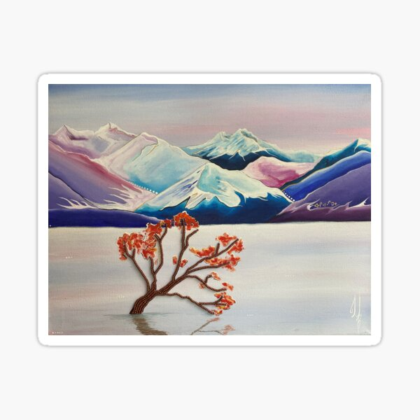 Wanaka Tree Sticker
