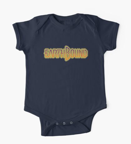 Earthbound Title Screen (Pixelated) Kids Clothes