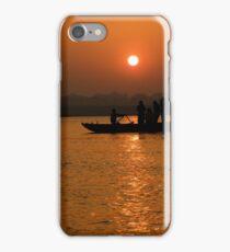 Sunrise on the Ganges iPhone Case/Skin