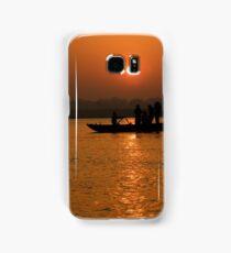 Sunrise on the Ganges Samsung Galaxy Case/Skin