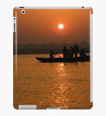 Sunrise on the Ganges iPad Case/Skin