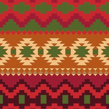 Red Aztec by JillianR95