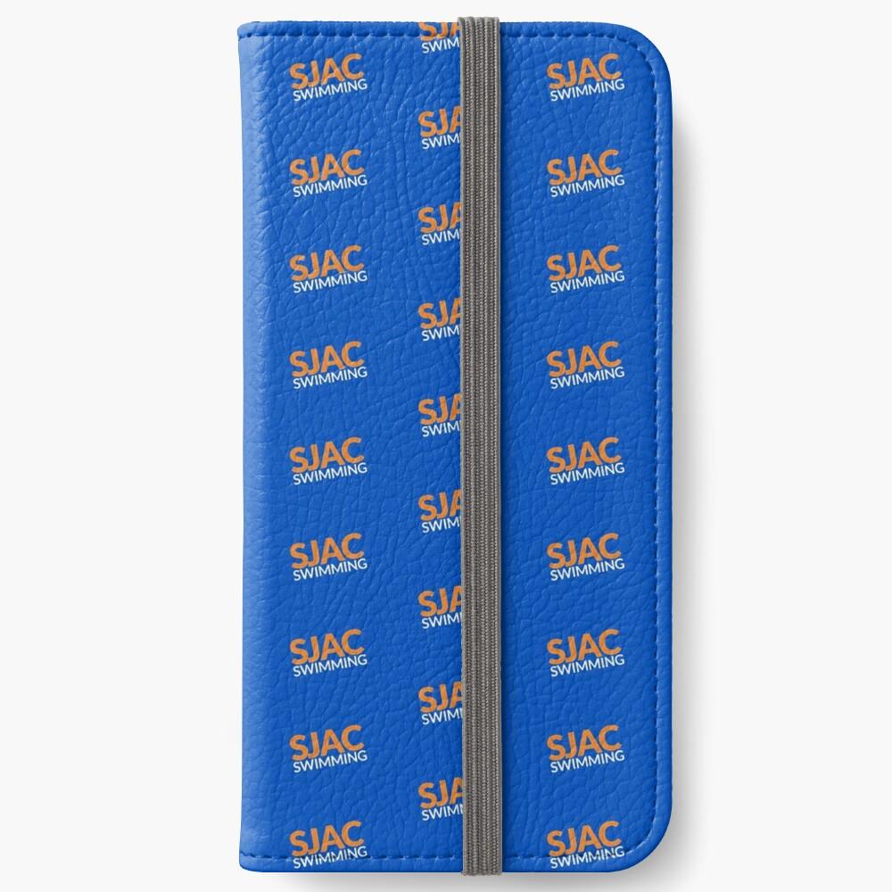 SJAC Pattern Royal iPhone Wallet