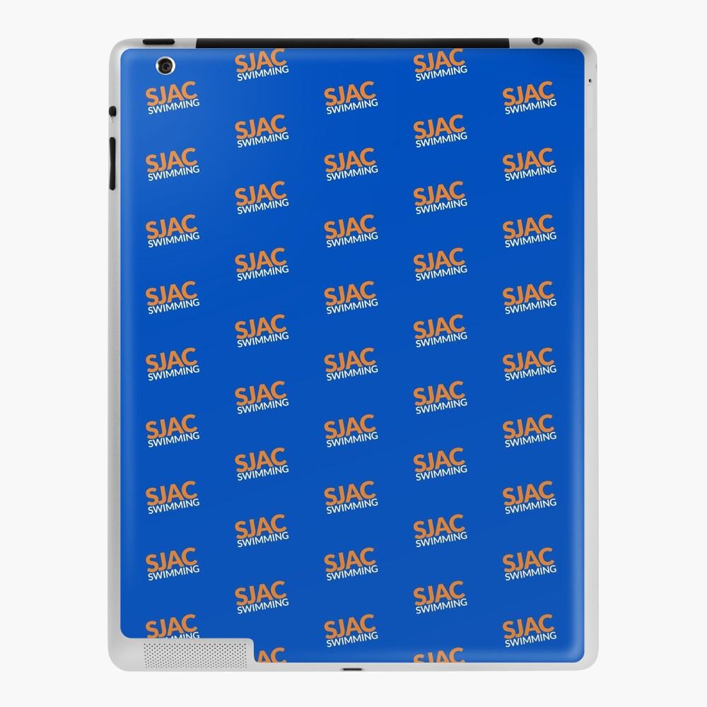 SJAC Pattern Royal iPad Case & Skin
