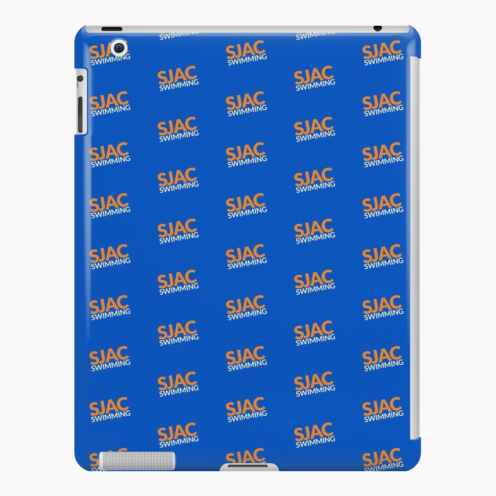 SJAC Pattern Royal iPad Case & Skin