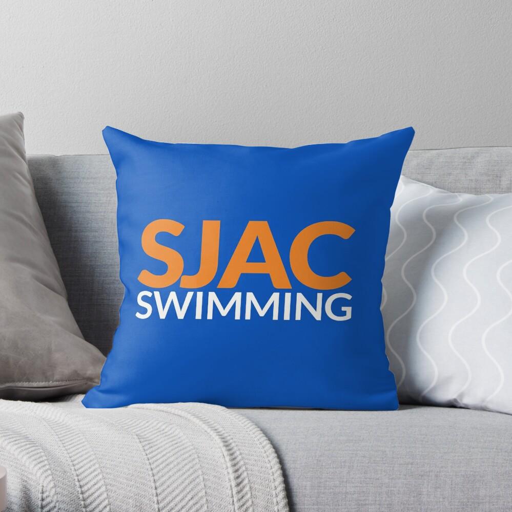 SJAC Royal Throw Pillow