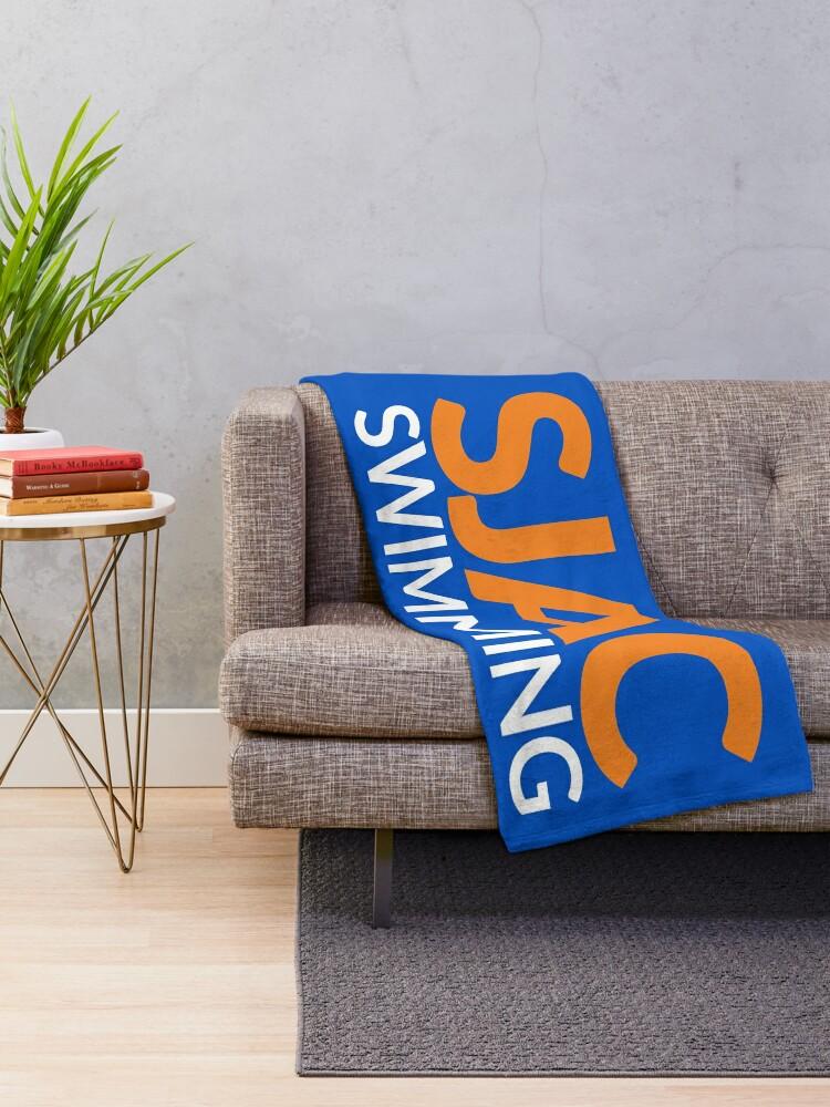Alternate view of SJAC Royal Throw Blanket