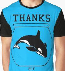 Thanks but No Tanks Graphic T-Shirt
