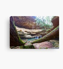 Old Mans Cave Canvas Print