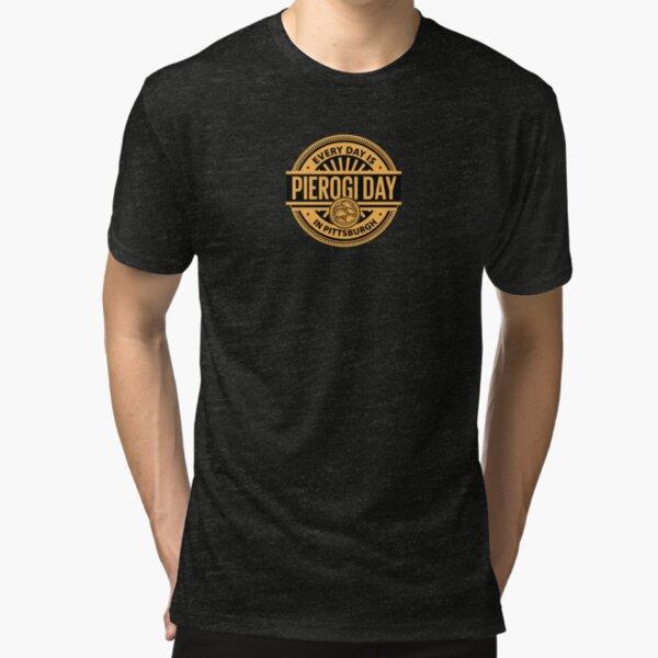 Pierogi Day Tri-blend T-Shirt