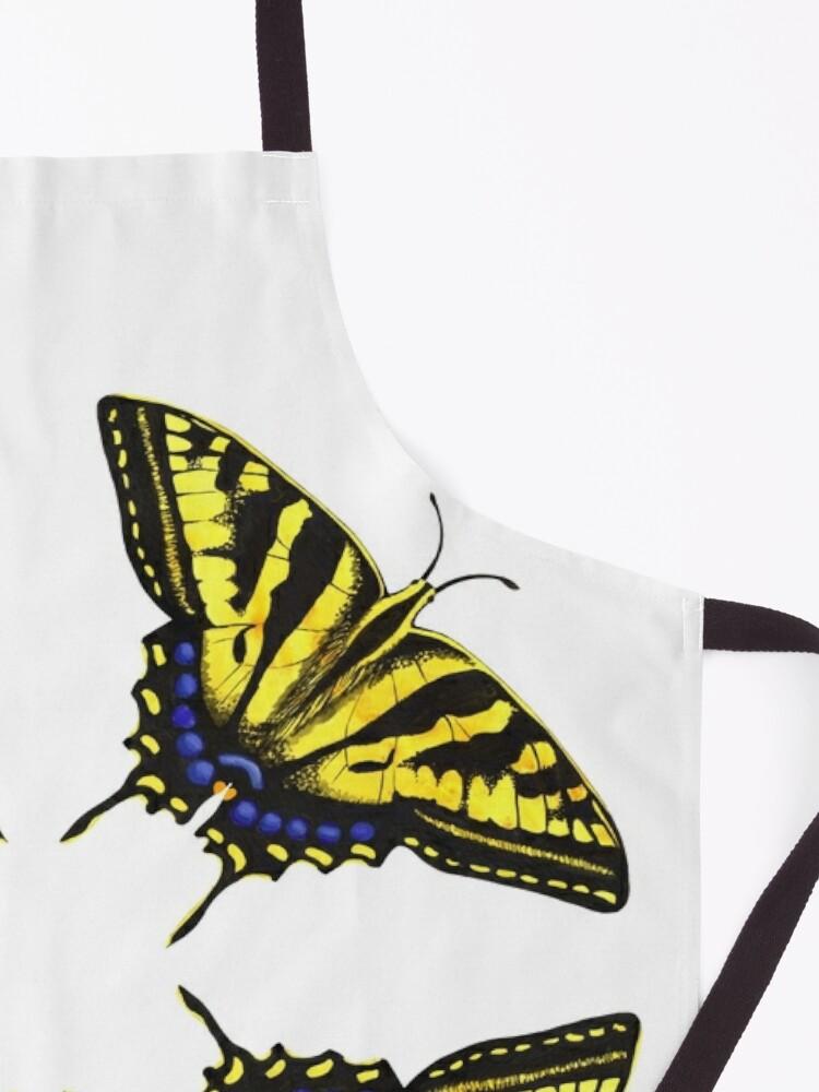 Alternate view of Swallowtail Butterflies   Apron