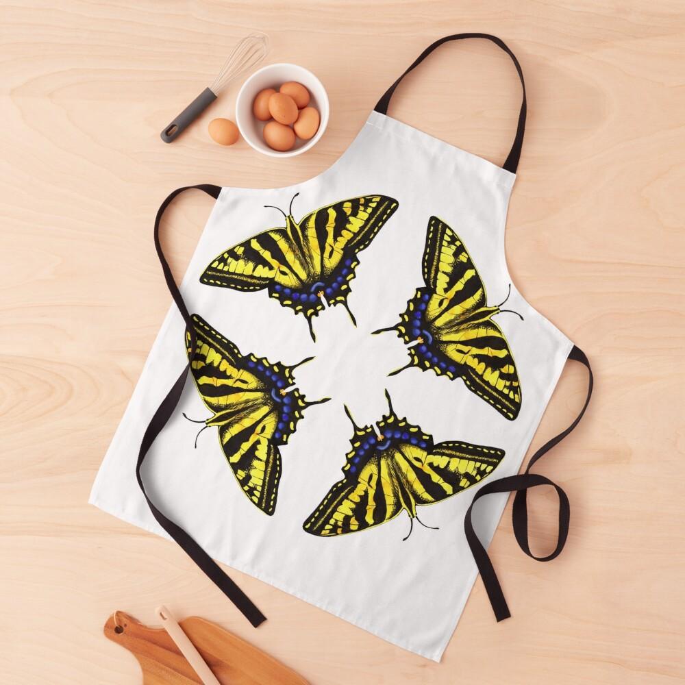 Swallowtail Butterflies   Apron