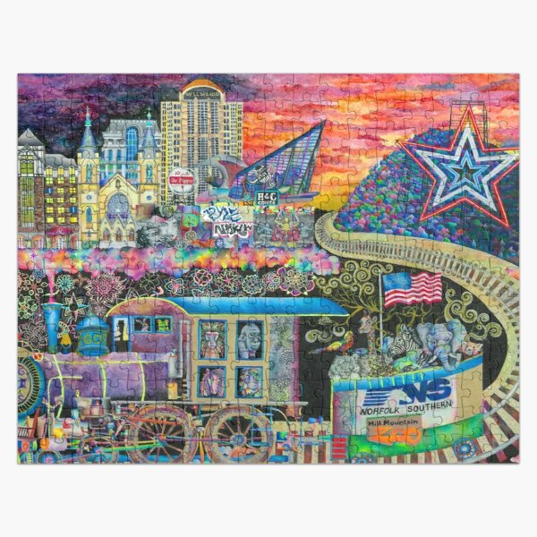 Noke Train 2016 by Brook Ludy Jigsaw Puzzle