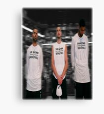Spurs Big 3 Soft Edge Canvas Print