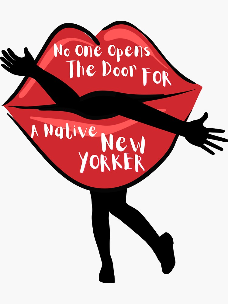 No one opens the door for a native new yorker by ds-4