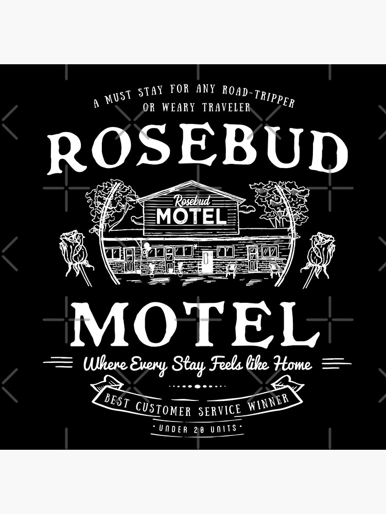 Rosebud Motel Funny Schitt's Creek Inspired by BeyondVintage